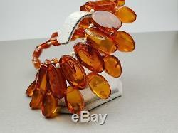 Vintage 105.64 gr. Natural Butterscotch Egg Yolk Baltic Amber Necklace