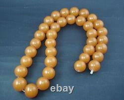 Vintage USSR Original Genuine Natural LARGE Baltic Amber 159g/795ct Butterscotch