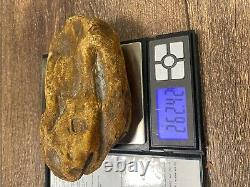Yellowithmilky Baltic Amber stone (262 g.)